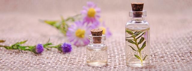 olejki eteryczne i kwiaty